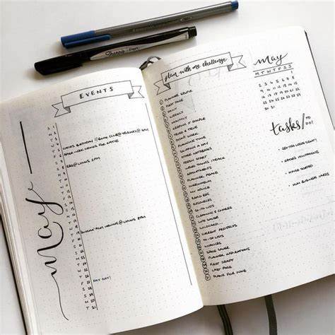 layout for journal intime minimalist minimal bullet journal instagram photo by