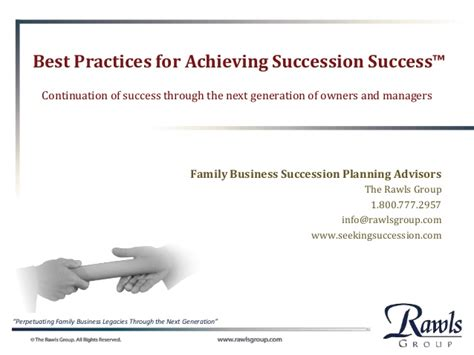 business best practices for success in medicare s value based health care program books family business succession planning best practices
