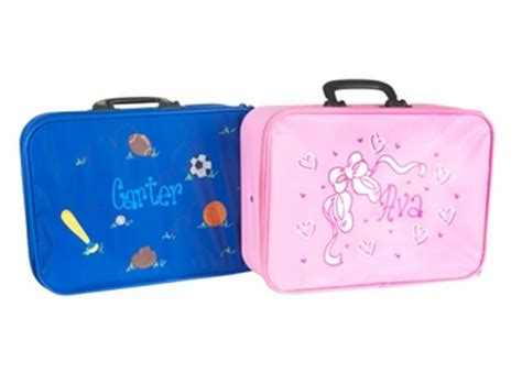 personalized childs suitcase luggage