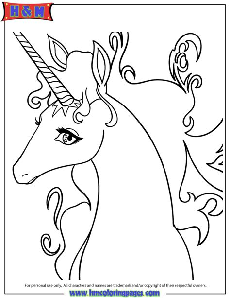 pictures of cartoon unicorns coloring home