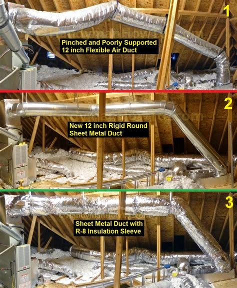 air duct replacement diy how to install sheet metal duct planning and