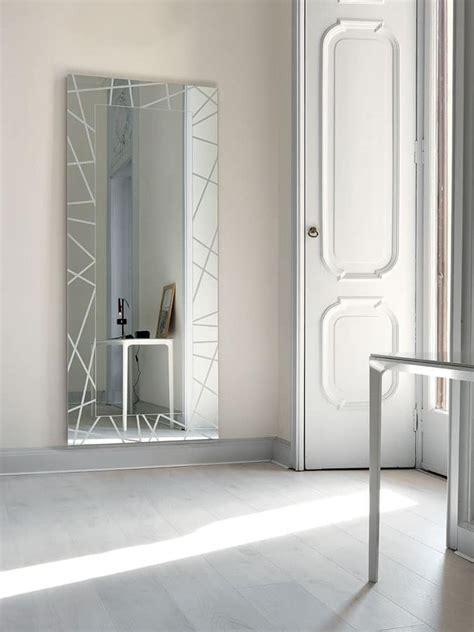 specchiere moderne per ingressi specchio moderno rettangolare con led per ingresso