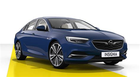 opel blue opel insignia grand sport 2018 couleurs colors