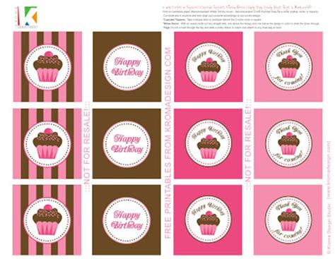 printable card toppers free free printable pretty pink brown cupcake invites