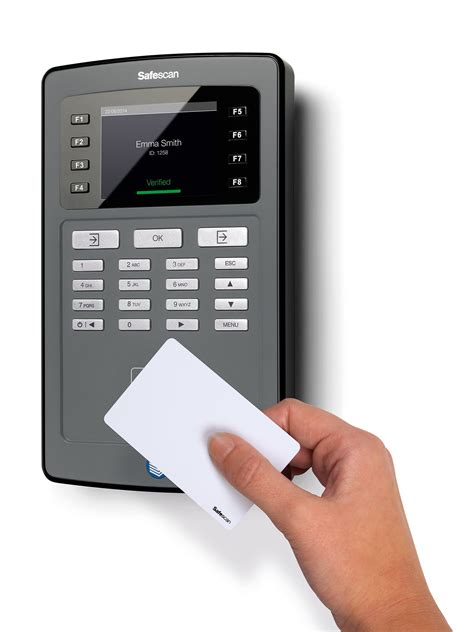 Door Badge System safescan ta8015 wifi clocking in system with rfid badge reader door access
