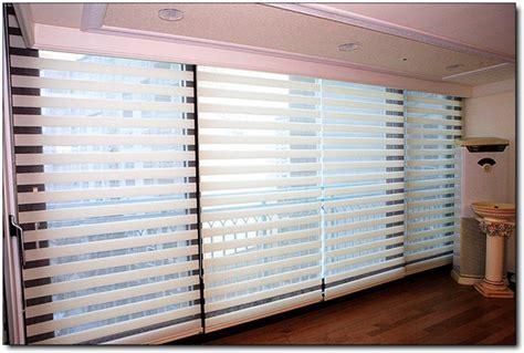 Colored Window Blinds Custom Made 100 Polyester Translucent Roller Zebra Blinds