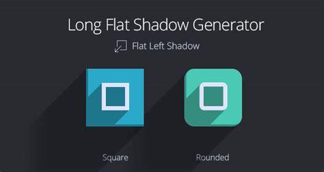 photoshop template long shadow long flat shadow generator psd miscellaneous pixeden