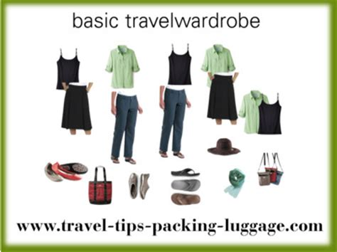basic travel wardrobe and how to chose the best travel clothes