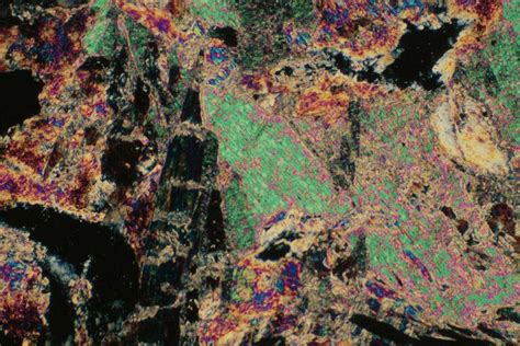 Talc Thin Section by Talc