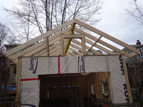 Garage Roof Construction Fences And Sheds Kiwi Mike S Renos