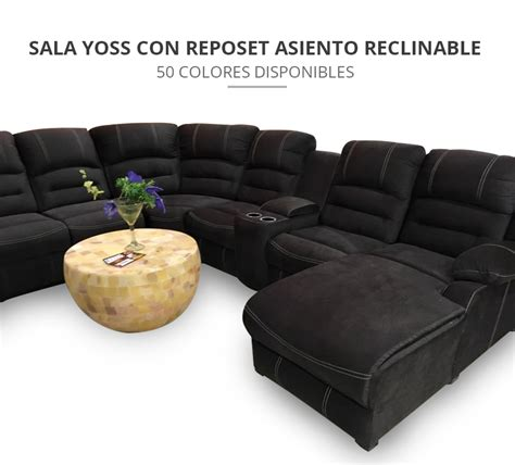 sillon reclinable jamar sala modular yoss reclinable reposet 26 000 00 en