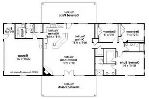 Ranch Blueprints Ranch House Plans Ottawa 30 601 Associated Designs