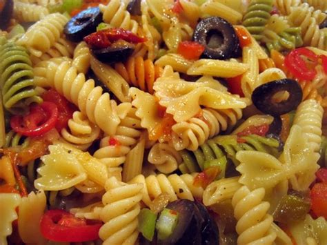 cold pasta salad dressing blackberry pockets cold italian pasta salad and dressing