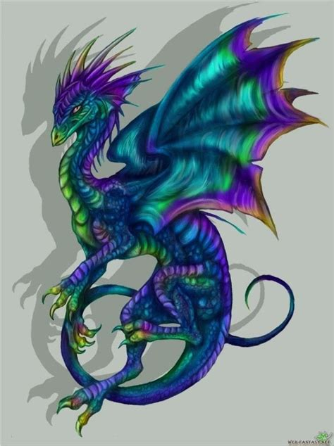 colors of dragons neat idea for a tat tattoos