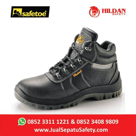 Sepatu Safety Merk Safetoe distributor sepatu safetoe hydra sulawesi