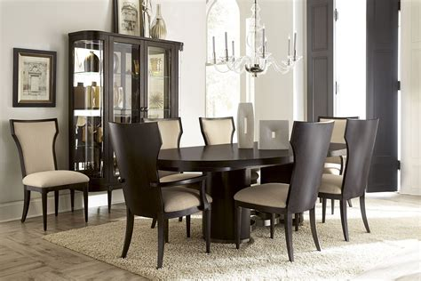 oval dining room set greenpoint oval dining room set from art 214223 2304