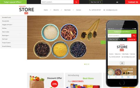 5 Simple Tips In Choosing The Right Website Template Simple Store Template