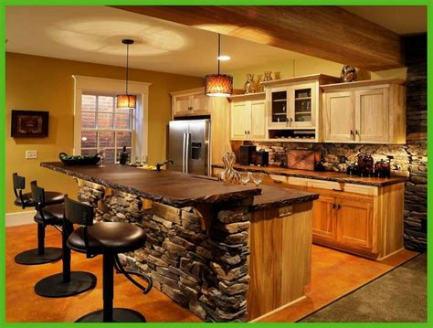 Kitchen Island Ideas With Bar Adorable Kitchen Island Bar Ideas Home Decorating Ideas Home Interior Inspiration