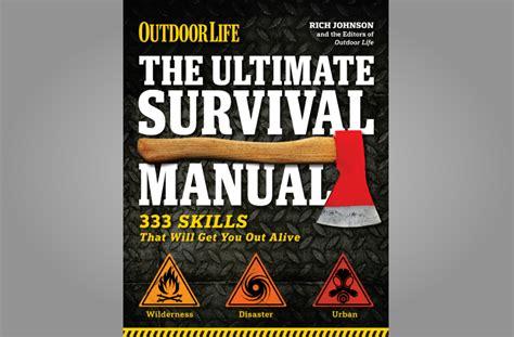 survival books the ultimate survival manual gearmoose