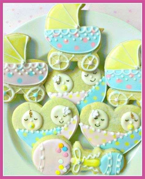 Baby Shower Themes For Fraternal by Baby Shower Cookies Sweet Dough