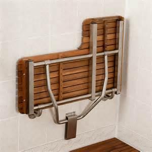 36 quot teak ada left l shaped shower seats teakworks4u