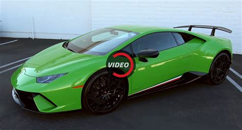 lamborghini huracan performante sounds like it could eat