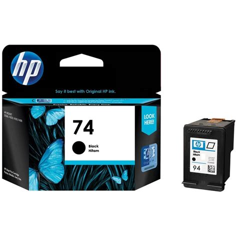Tinta Printer Hp tinta printer hp black ink cartridge 74 cb335wa original distributor tinta printer original