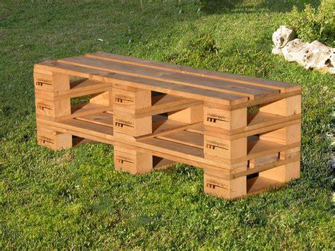 costruire una panchina in legno panca fatta con bancali bi18 187 regardsdefemmes