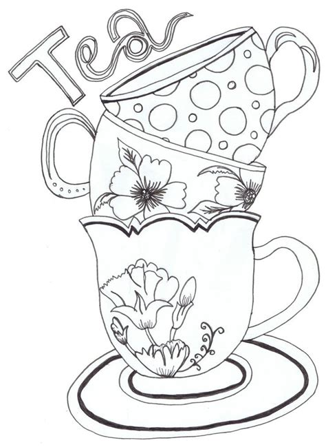 teapot coloring pages az coloring pages