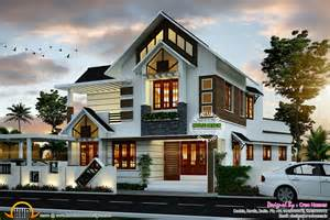 Home Design Blueprints Modern House Plan Kerala Home Design Floor