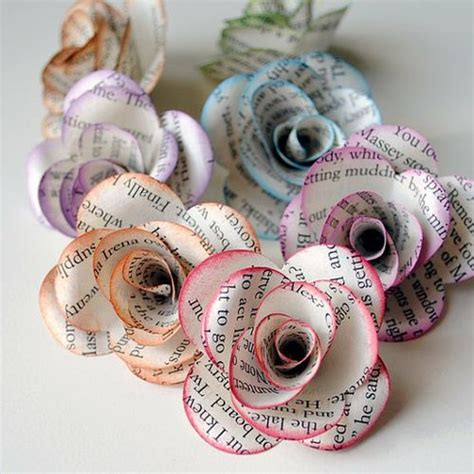 Crafts Made From Paper - 30 craft ideas