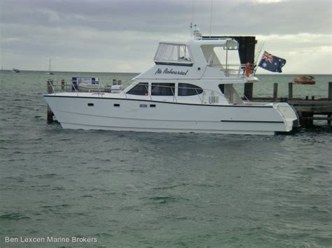 displacement boats for sale used powercat peter brady designed displacement powercat