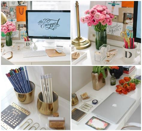 Desk Decoration Ideas Loving Beautiful Desk Decor Pen My Apartment Pinterest