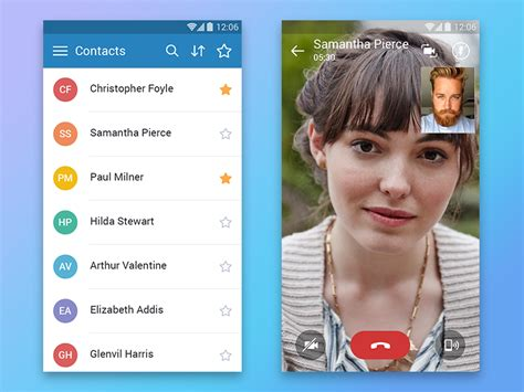 Android Who Is Calling App by Call Android App Uplabs