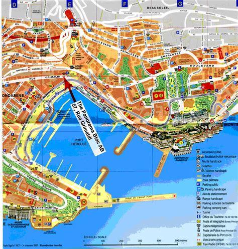 map of monte carlo map of monte carlo monaco
