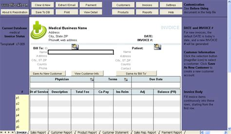 printable medical invoice pin medical invoice template free printable templates in