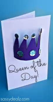 toilet paper roll crown craft s day card crafty morning