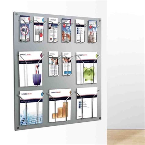 Magazine Wall Racks by Acrylic Magazine Rack Wall Mounted Decor Ideasdecor Ideas