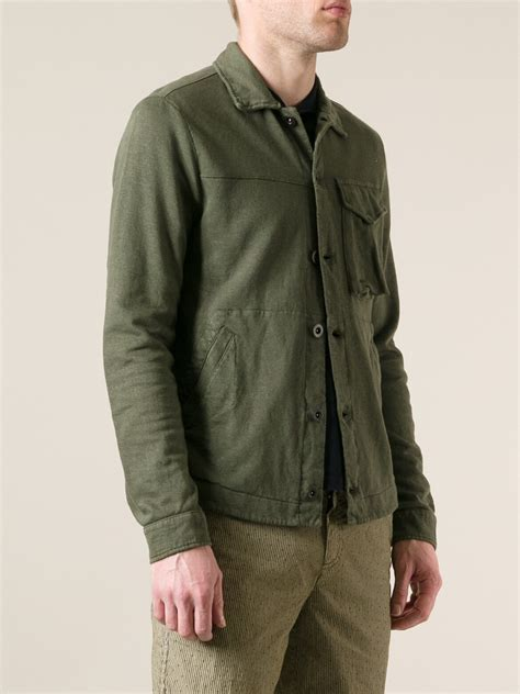 A6200 Cp Calvin Jaket lyst c p company jacket in green for
