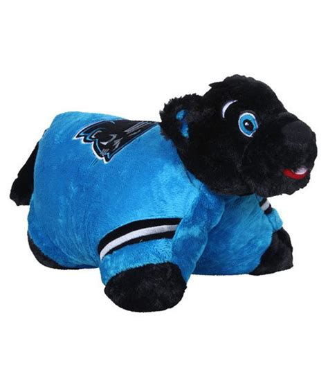 Carolina Panthers Pillow by Carolina Panthers Nfl Pillow Pet Jo