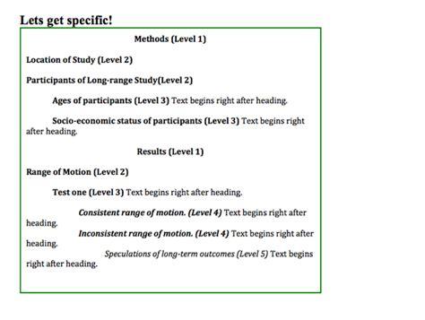 apa format with headings apa format headings and subheadings tutorial sophia