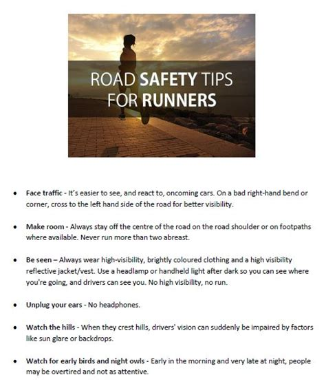 9 tips for running safely juvenile news st catherines a c