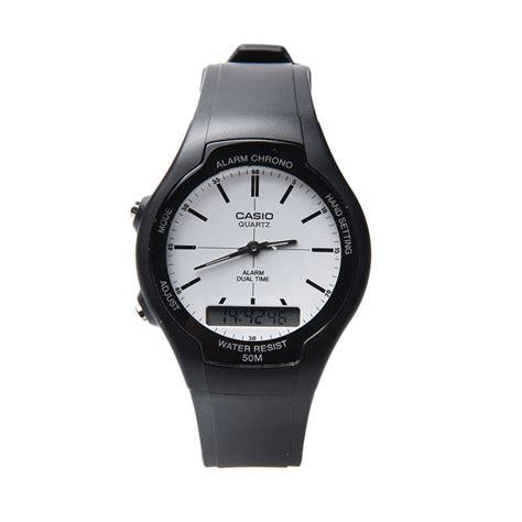 Jam Tangan Casio Casio Jam Tangan Wanita Hitam Karet Lx 500h 1e jual casio aw 90h 7evdf jam tangan wanita hitam harga kualitas terjamin blibli