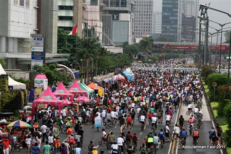 Jakarta Car Free Day car free day dki jakarta forum jalan2 silahkan