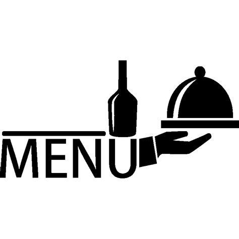 sticker menu classique stickers stickers cuisine textes