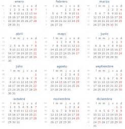 Calendario 2018 Con Festivos Calendario Con Festivos 2018 En Espa 241 A Calendario Con