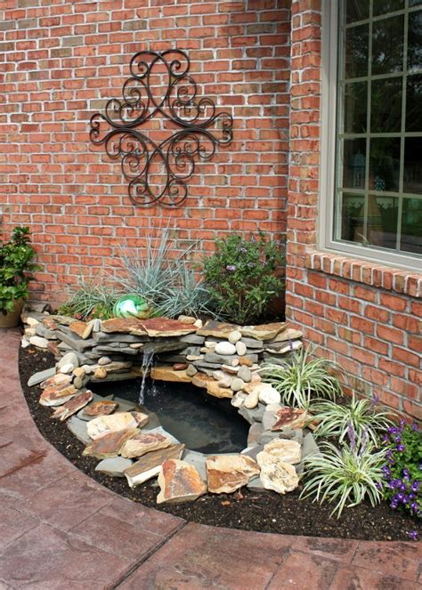 Backyard Water Feature Diy by Diy Backyard Pond Landscape Water Feature