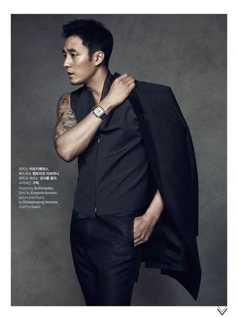 so ji sub hip hop so ji sub models watches for high cut and plans to release
