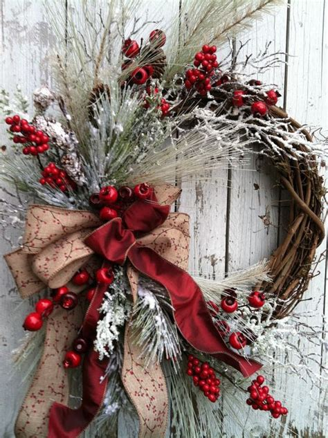 Winter Door Wreaths by 30 Wreaths Decorating Ideas To Try Now Feed