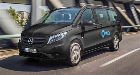 Mercedes In Europe Mercedes Vans To Join Ride Fleet In Europe